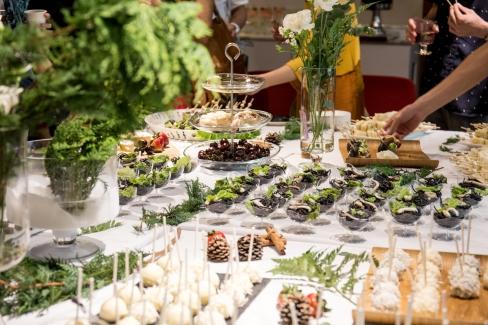 外燴廠商坡倫為冬令實驗製作的餐點。Credit Hem Media